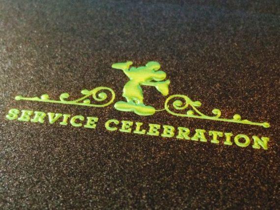 Disney service celebration