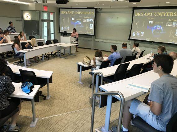 Bryant University info session