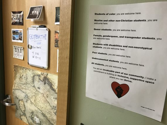 Justice and equality on campus