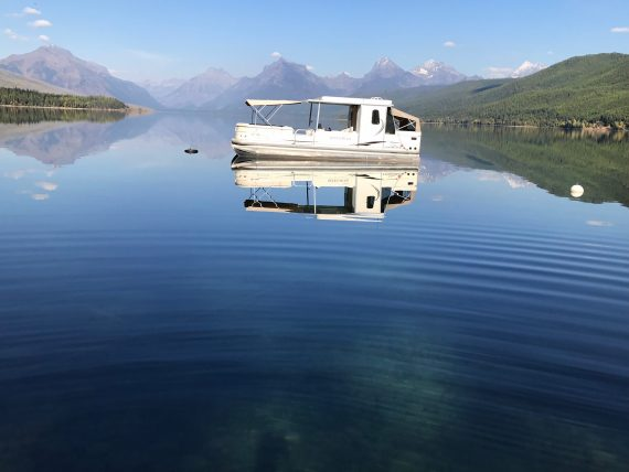 Lake McDonald Boat House