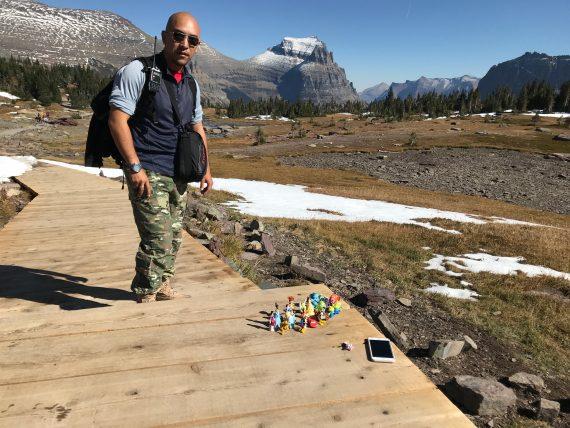 Disney Characters at Glacier National Park