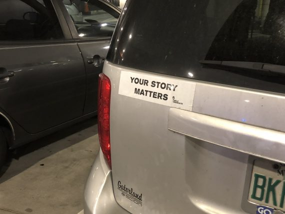 Inspiring bumper sticker