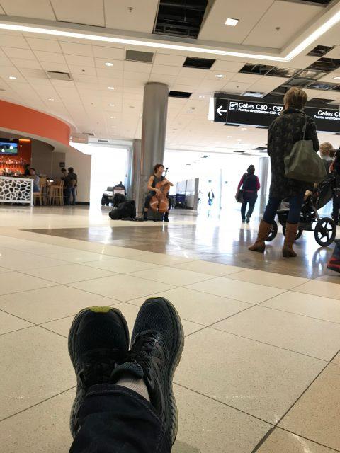 Atlanta airport violinist