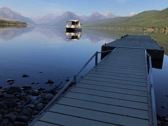 Lake McDonald Boathouse