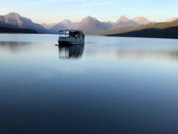 Lake McDonald Boathouse