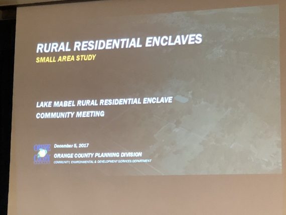 Lake Mabel Rural Enclave