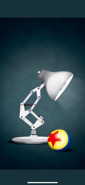 Pixar lamp and ball