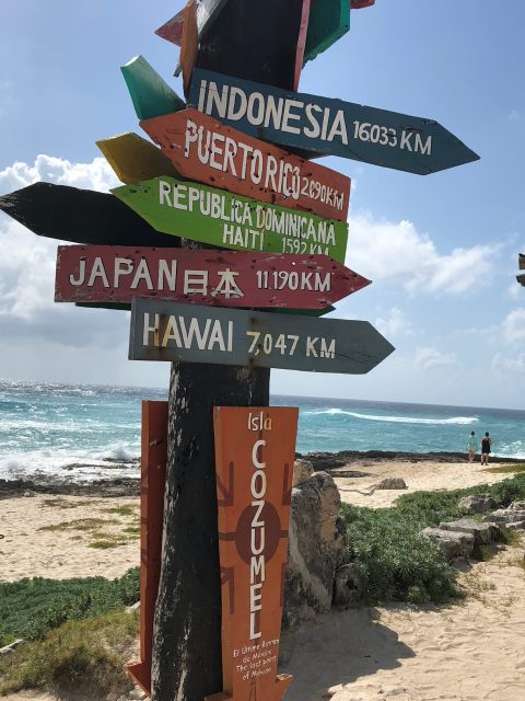 Cozumel city directions