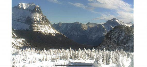 Logan Pass in Winter