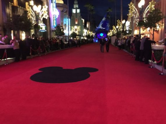 Red Carpet Mickey Mouse