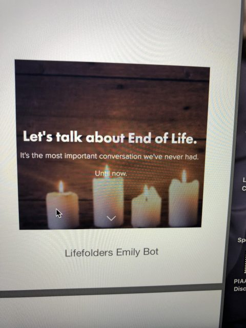 end of life talks
