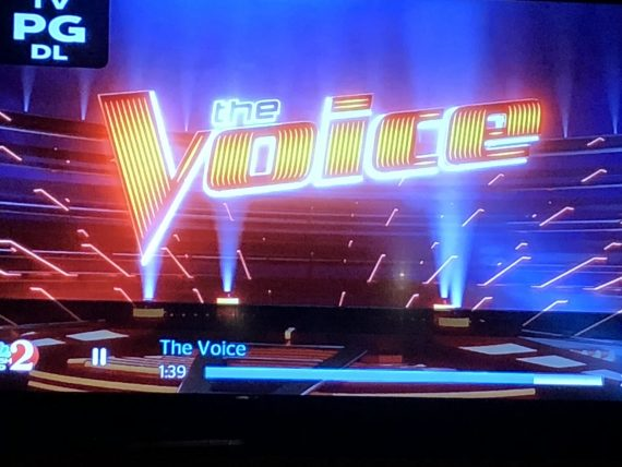 The Voice icon