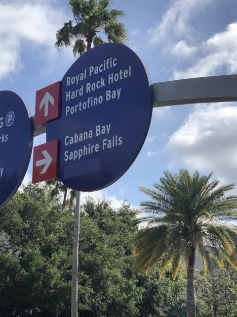 Universal Studios signage