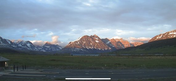 Glacier National Park east entrance