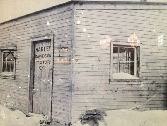 Harley Davidson original garage