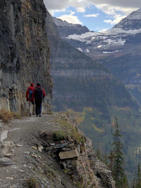 Fall hiking in Glacier