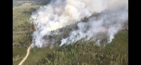 Glacier Park fires 2018