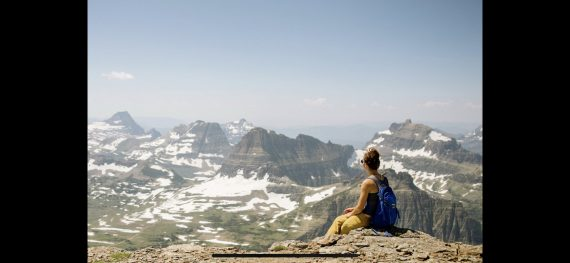 Glacier National Park summit
