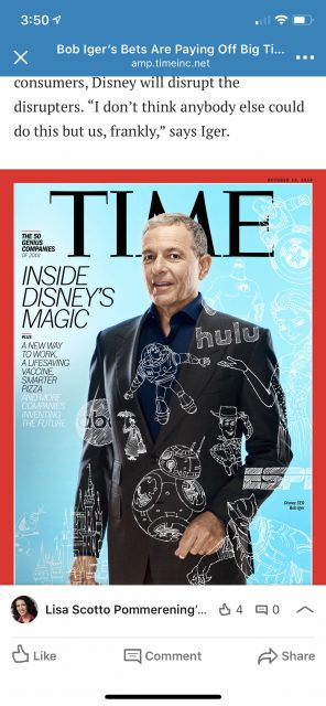Bob Iger time magazine