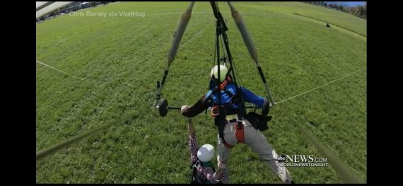 Hang glider failure