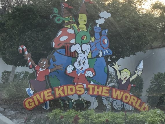 Give Kids The World welcome sign