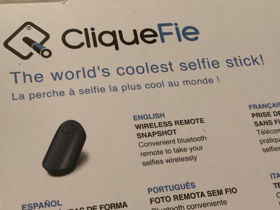 CliqueFie selfie stick