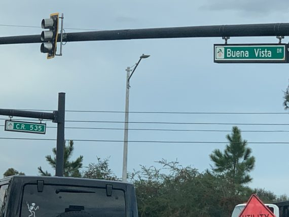 Disney intersection east side