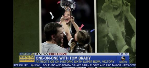 Tom Brady winning 6th super bowl