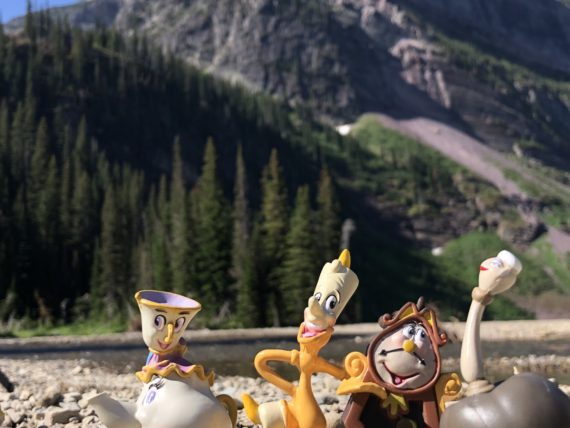 Beauty and The Beast Characters in Glacier