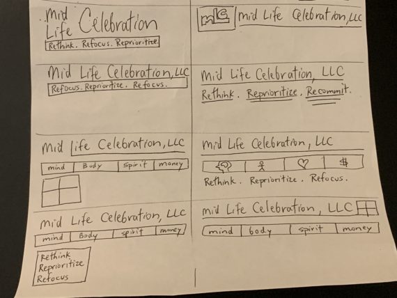 Mid life celebration