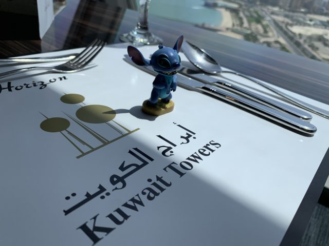 Kuwait Towers and Disney characters