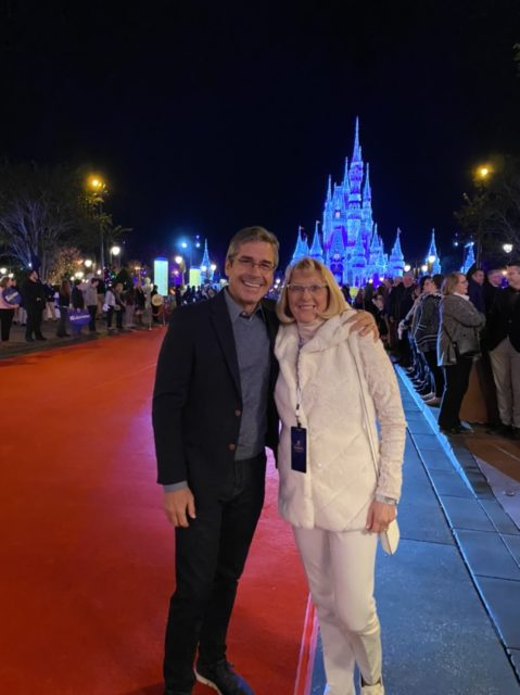 jeff and cheryl noel at Magic Kingdom