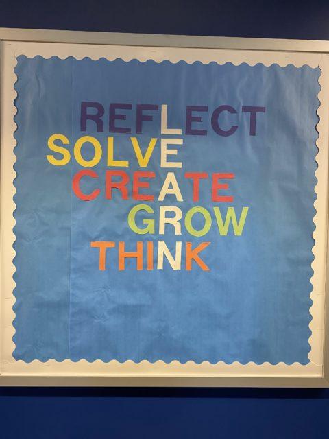 College dorm motivational poster