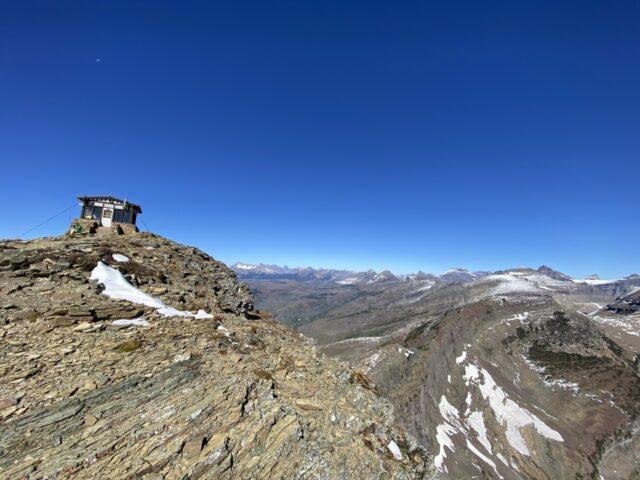 mountain firetower