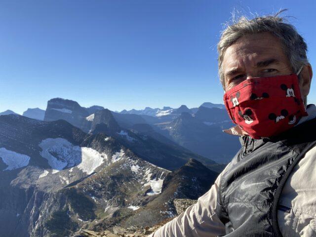 Disney Keynote Speaker Jeff Noel on a mountain