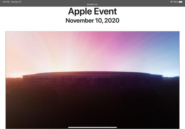 Apple HQ at dawn