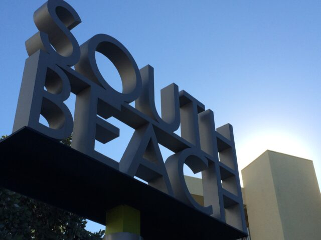 South Beach sign