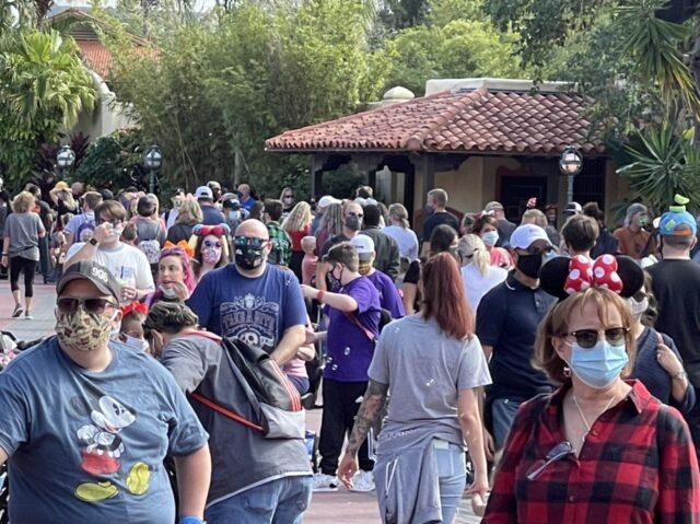 Disney World Guests in Adventureland