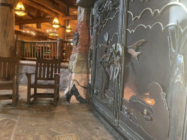 Disney's Grand Canyon Fireplace
