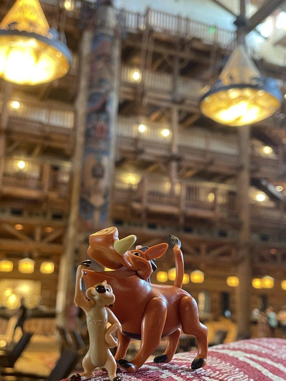 Disney's Wilderness Lodge lobby