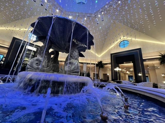 Dolphin Hotel at Walt Disney World lobby