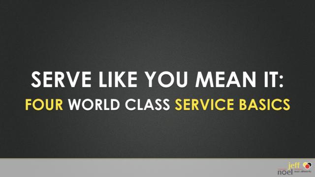 Disney Customer Service Speaker slide