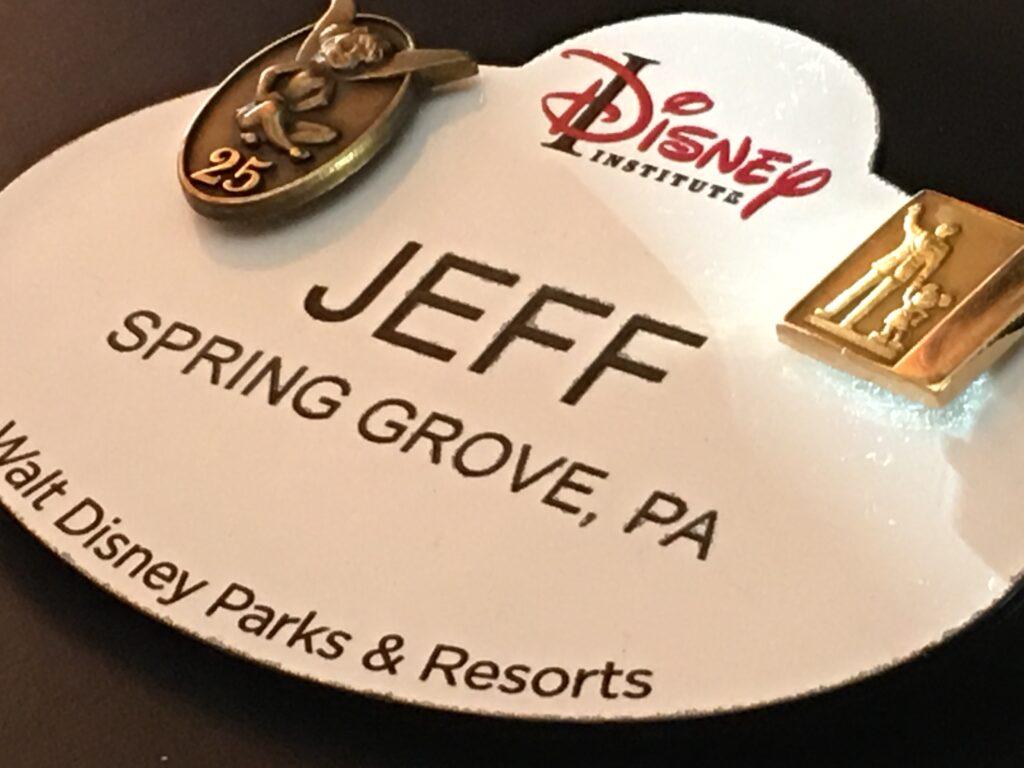 Disney Institute Cast Member Nametag