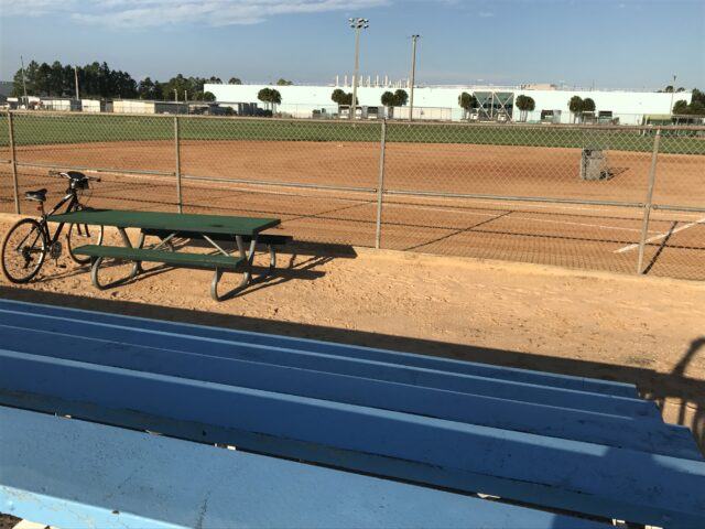 Disney World softball field