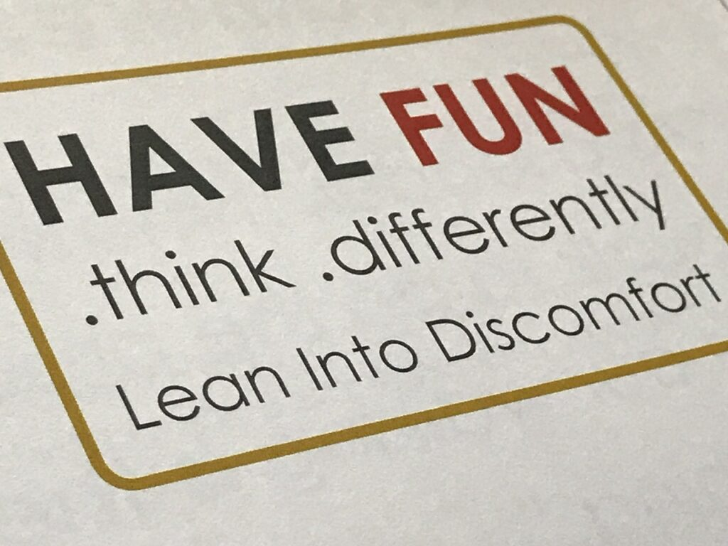 Disney Keynote speaker slide with 3 objectives
