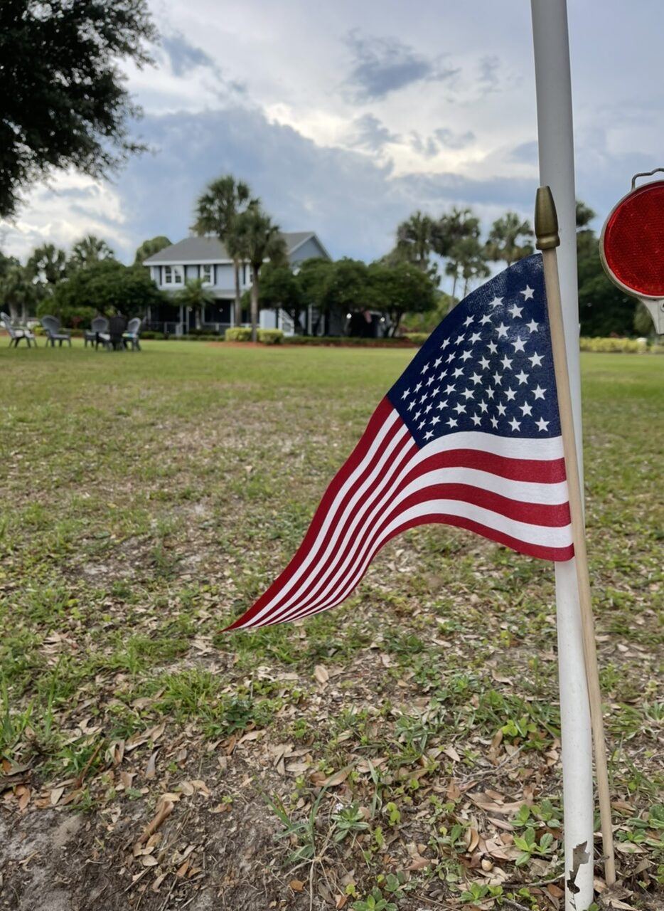yard size American Flag